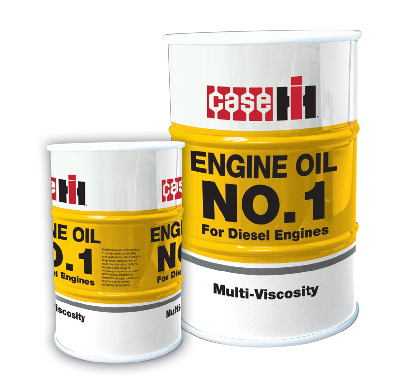 Bulk Case engine oil no. 1 drum