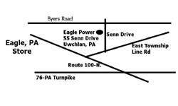 Eagle, PA Eagle Power & Equipment location map