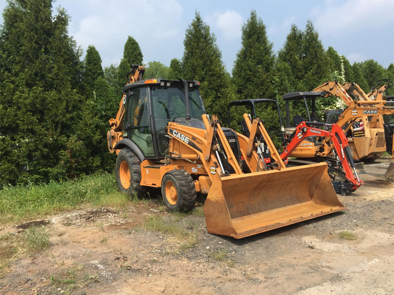 used 2011 case loader backhoe