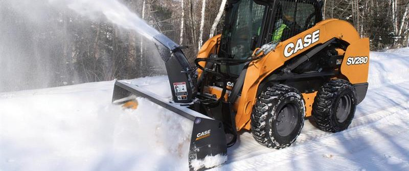 snow blower by CASE