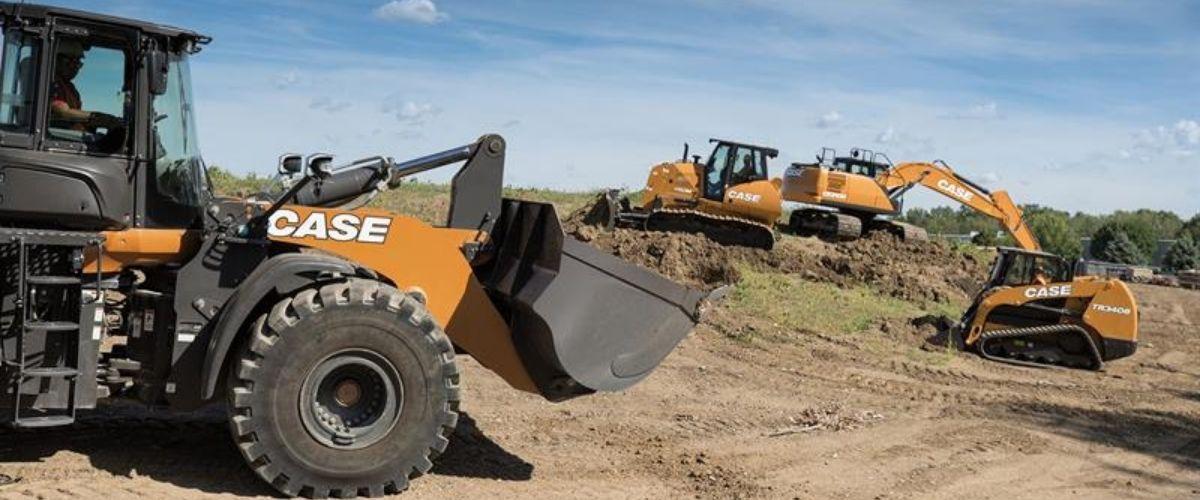 CASE heavy equipment